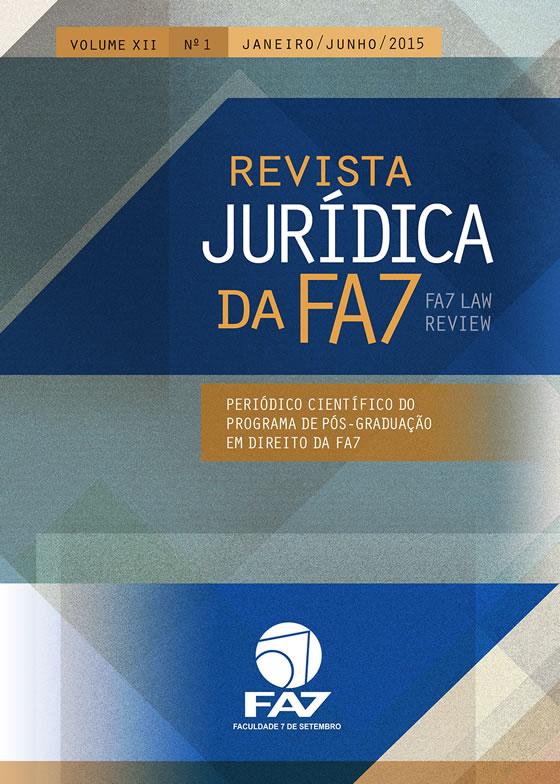Revista Jurídica da FA7 volume XII nº 1 - 2015